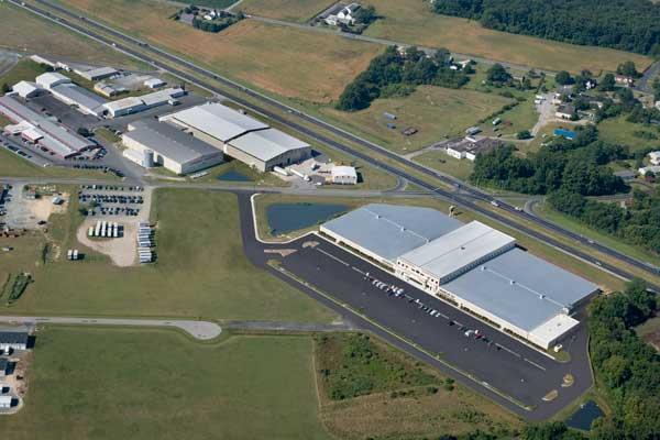 Amazing ... Delaware Aerial Photograph Of Johnny Janosik Furniture In Laurel,  Delaware ...